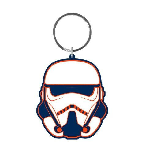 Star Wars Solo A Star Wars Story Stormtrooper Keyring Rubber Keychain Fob